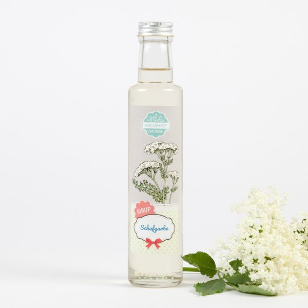 Bio Sirup Schafgarbenblüten