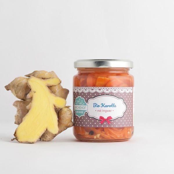 Karotte Ingwer fermentiert